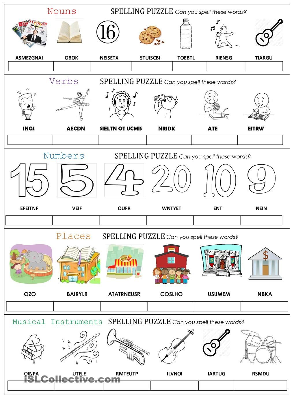 spelling puzzle esl worksheets of the day teaching english english class learn english. Black Bedroom Furniture Sets. Home Design Ideas