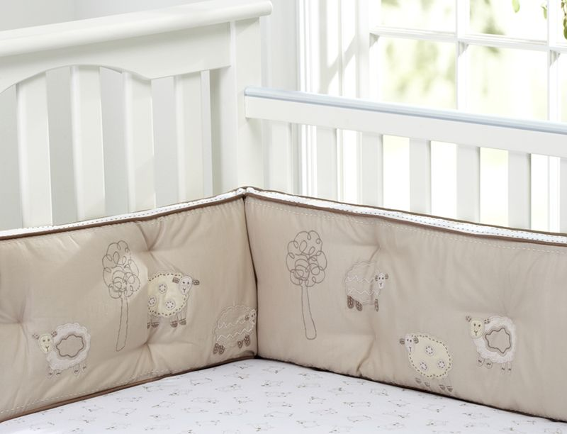 Pottery Barn Kids Recalls Sweet Lambie Crib Bumpers Due To Entanglement  Hazard   The Thread In