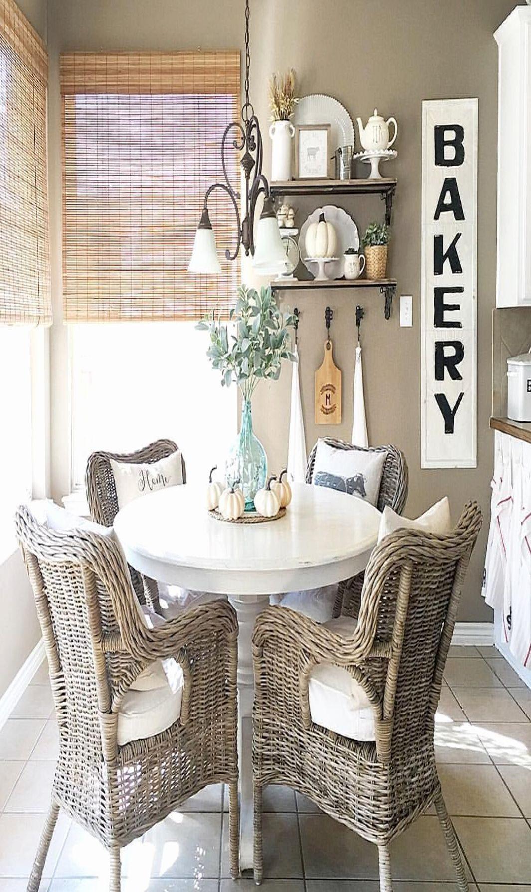 farmhouse breakfast nook table