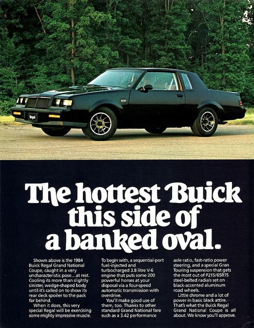 1984 Buick Regal Grand National Coupe | Hot Cars, Rat Rods, Unusual ...