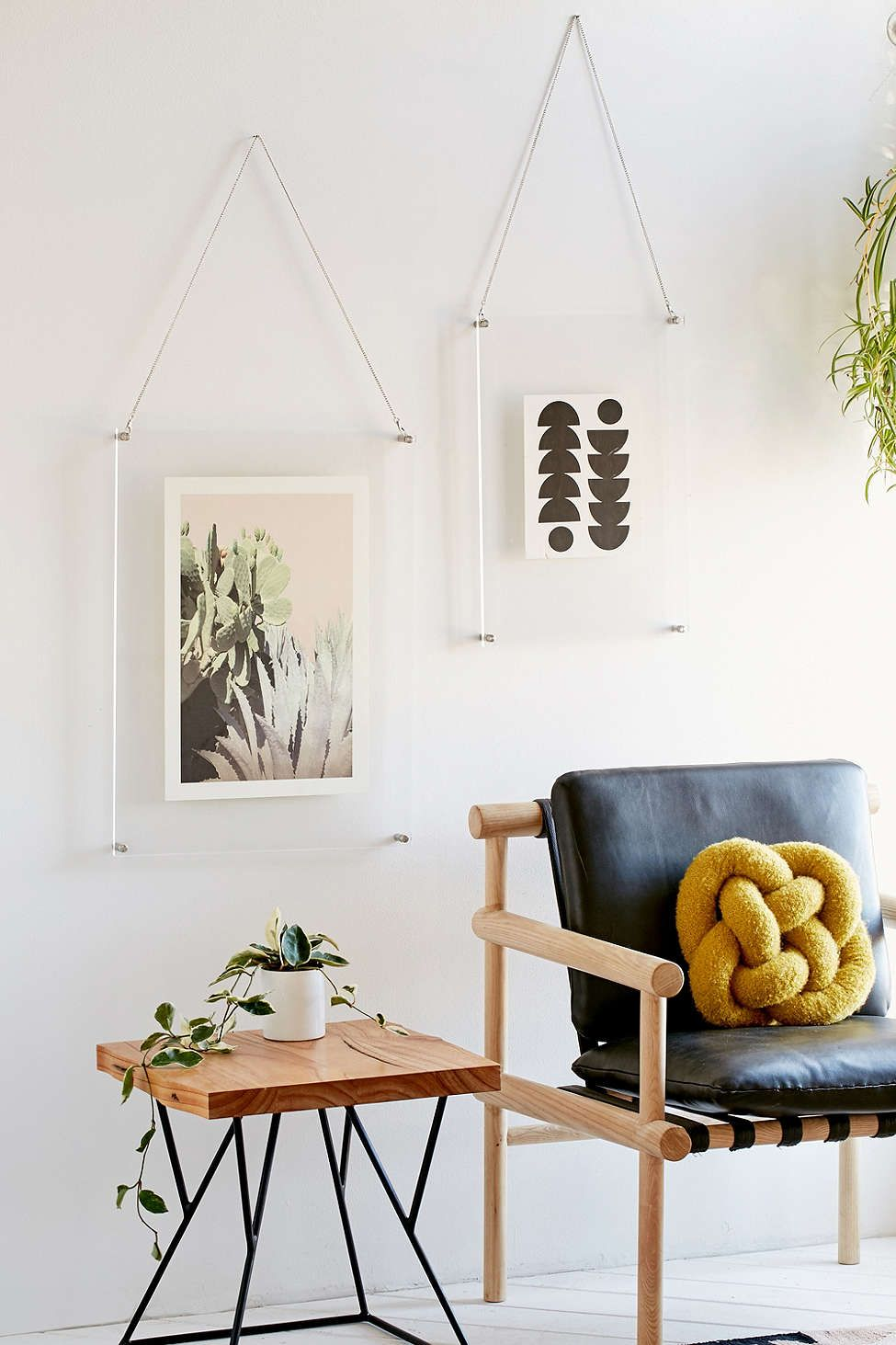Acrylic Hanging Display Frame. Living SpacesLiving RoomsLiving ...