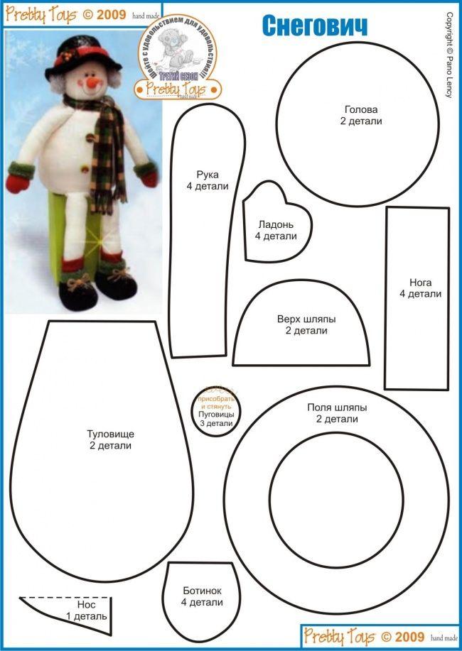 Boneco de neve | muñecos navideños | Pinterest