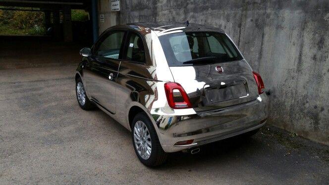 More Of The Chrome Fiat 500 Car Wrap Fiat 500 Suv Car