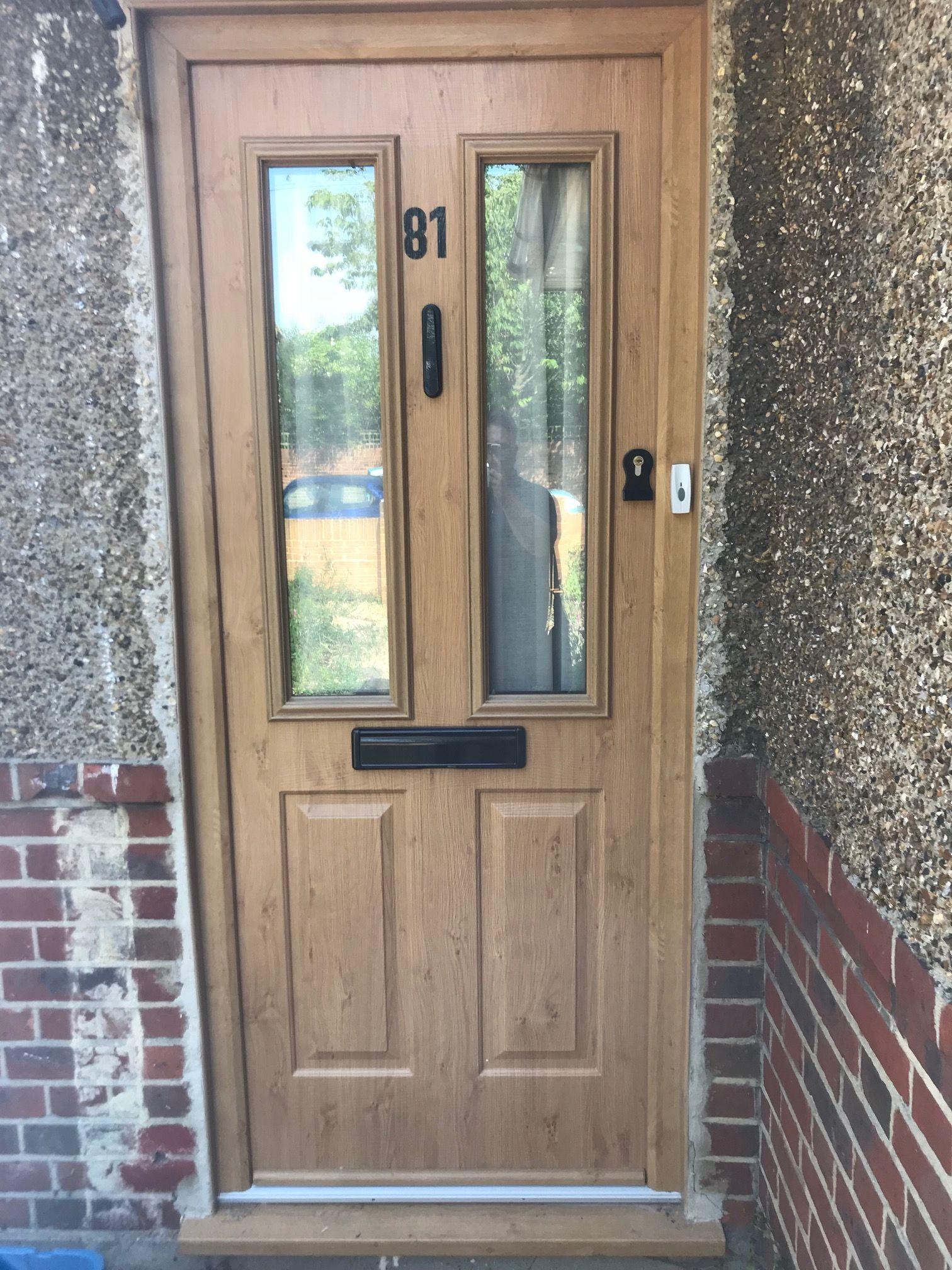 los angeles 46b0c ce4cb Ludlow Solidor Front Door in Irish Oak, The best Composite ...