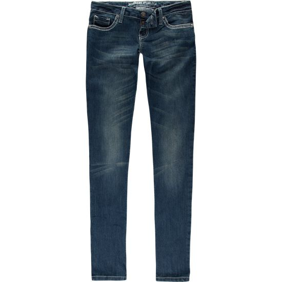 """Tillys: ZCo. Skinny jeans - Embroidered cross on both back pockets. (kinda long, im 5'4 and i have to roll them under 3"""")"""