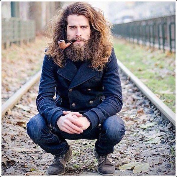 Pin By Omar B Sandlin Ii On Beard Style For Mens Hair And Beard Styles Long Hair Beard Viking Hair