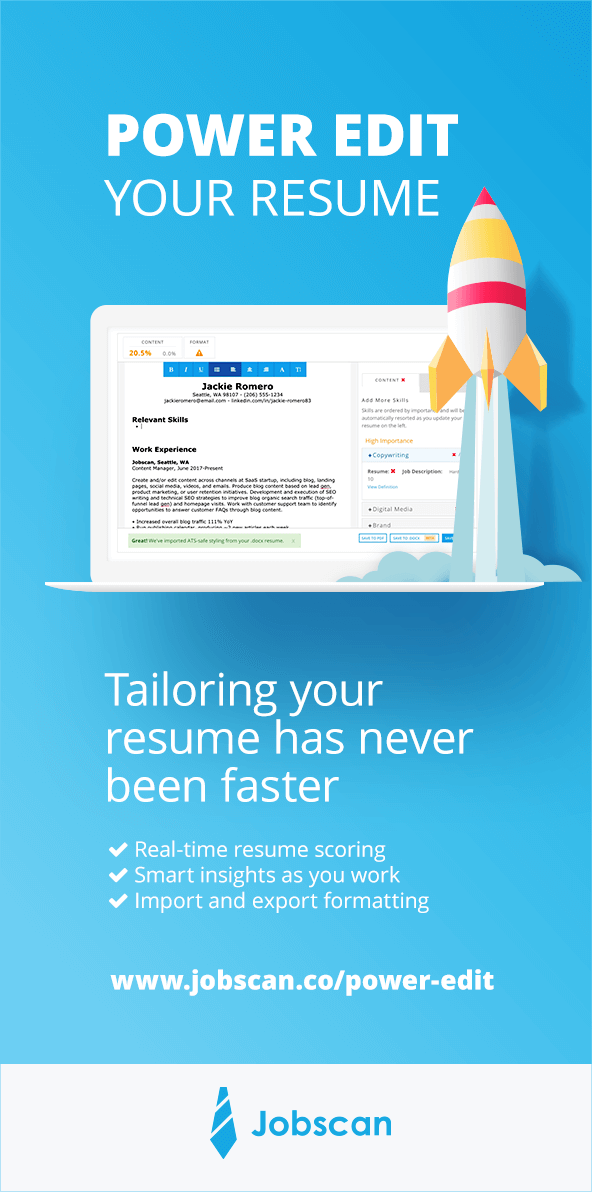 Customer Service Keywords for Your Resume Jobscan Blog