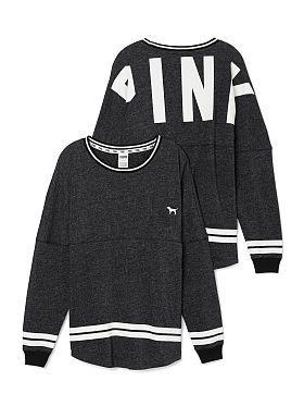 Varsity Crew VS PINK in black