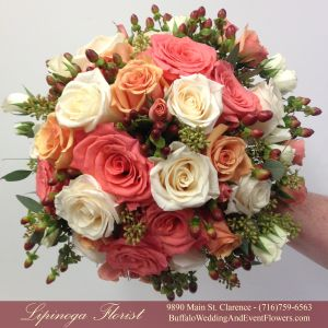 Lipinoga Florist Of Clarence Ny Designed This Stunning Bridal
