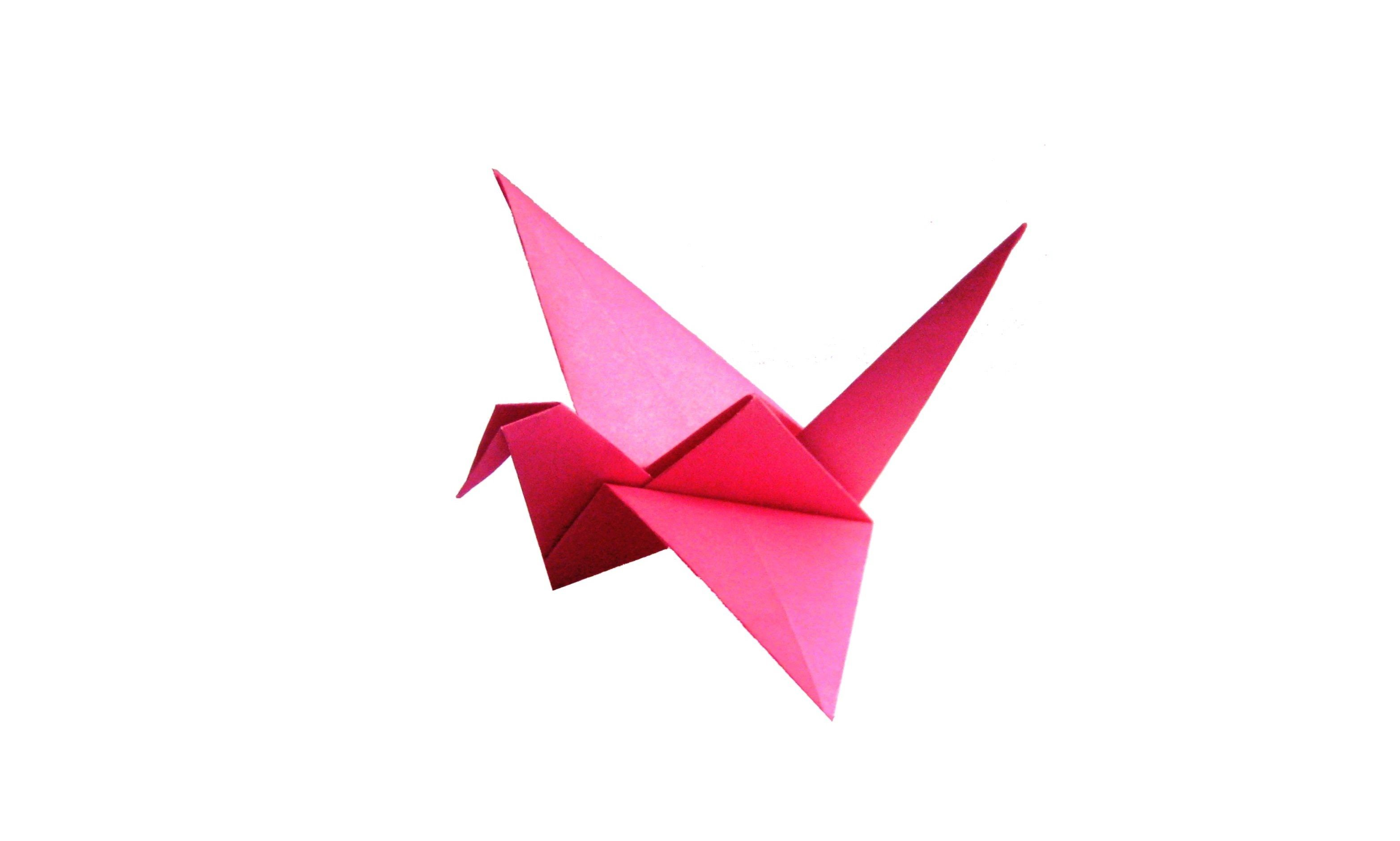 Origami flapping crane step by step | How to make a paper flapping ... | 1880x3128