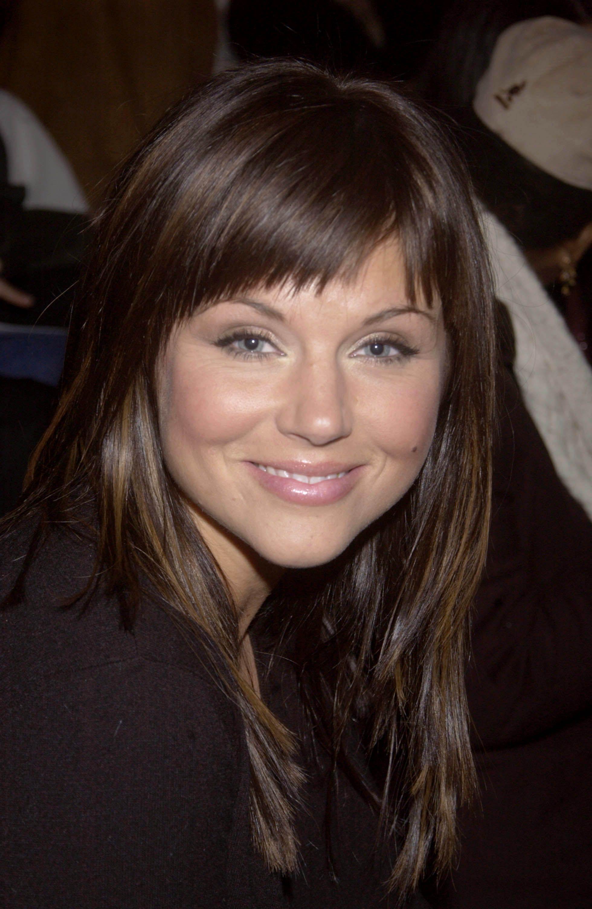 Tiffani thiessen love her soft makeup haircuts pinterest soft