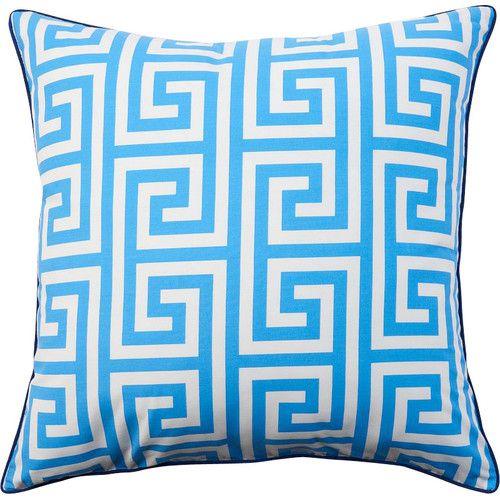 Kira Greek Key Pillow