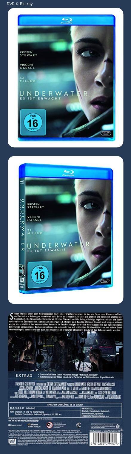 Underwater Blu Ray Franzosische Schauspieler Cthulhu Mythos Dvd