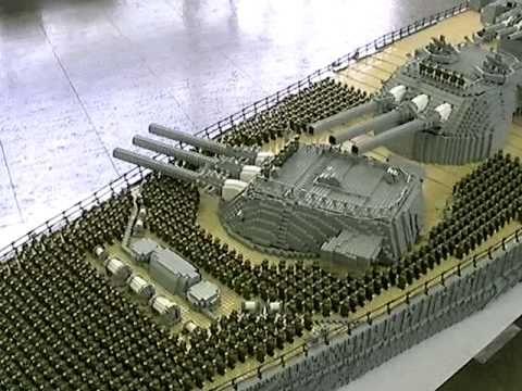 Lego Battleship Yamato Gunturret Legos I Love