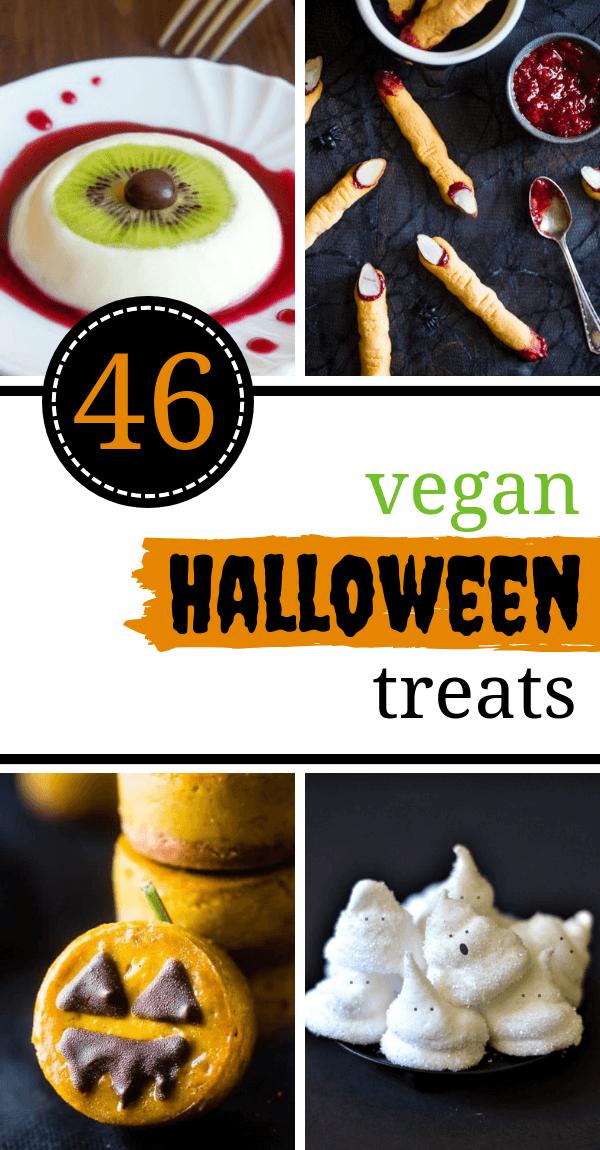 45 Freakishly Tasty Vegan Halloween Treats And Snacks Vegan Halloween Treat Vegan Halloween Food Vegan Kids