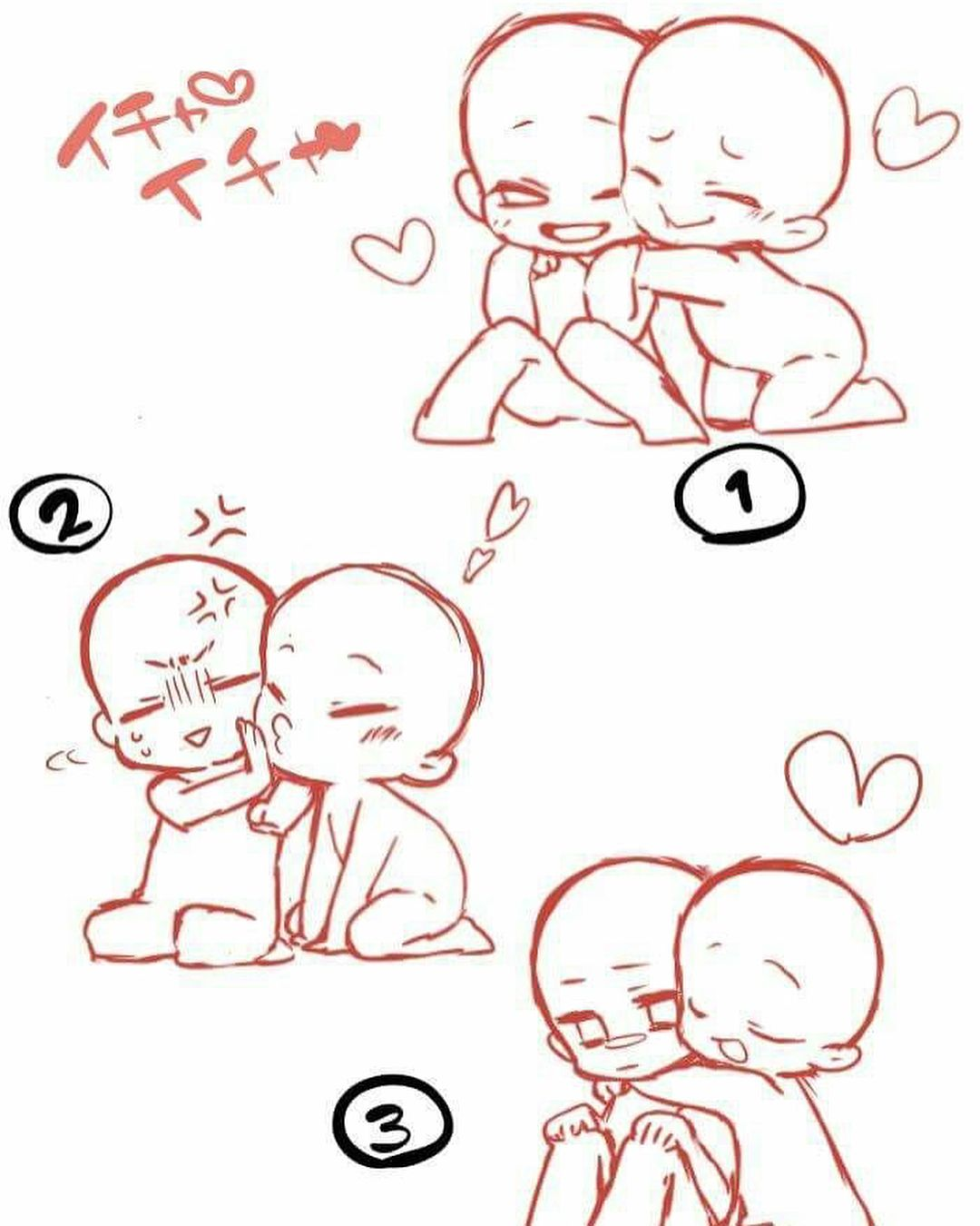 Chibi Anatomy And Pose References If You Know The Artists Please Tag Them Art Drawing Base Chibi Drawings Drawing Tutorial