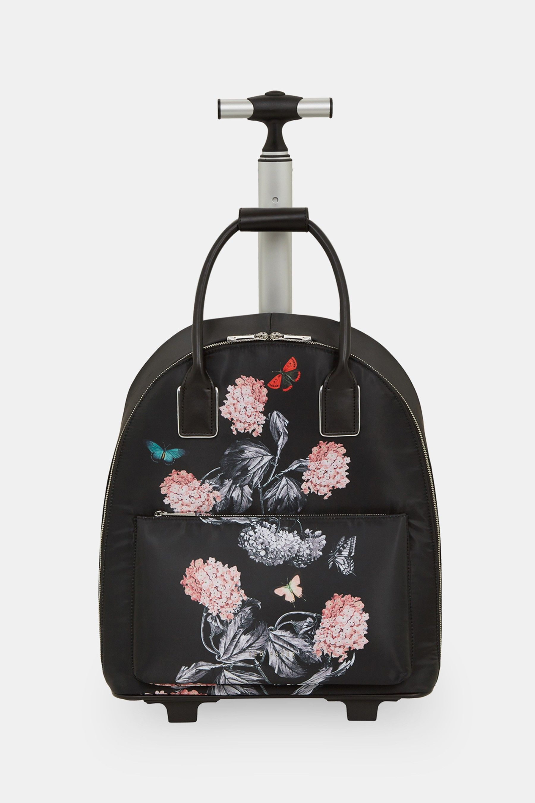 3fac68721f95 Womens Ted Baker Marttia Floral Cabin Bag - Black