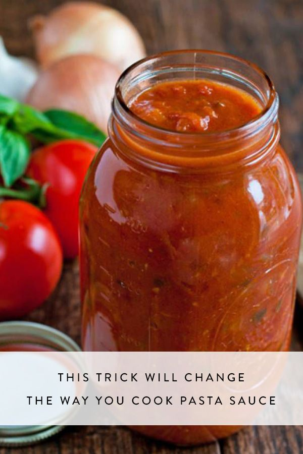 how to cook pasta sauce in the microwave