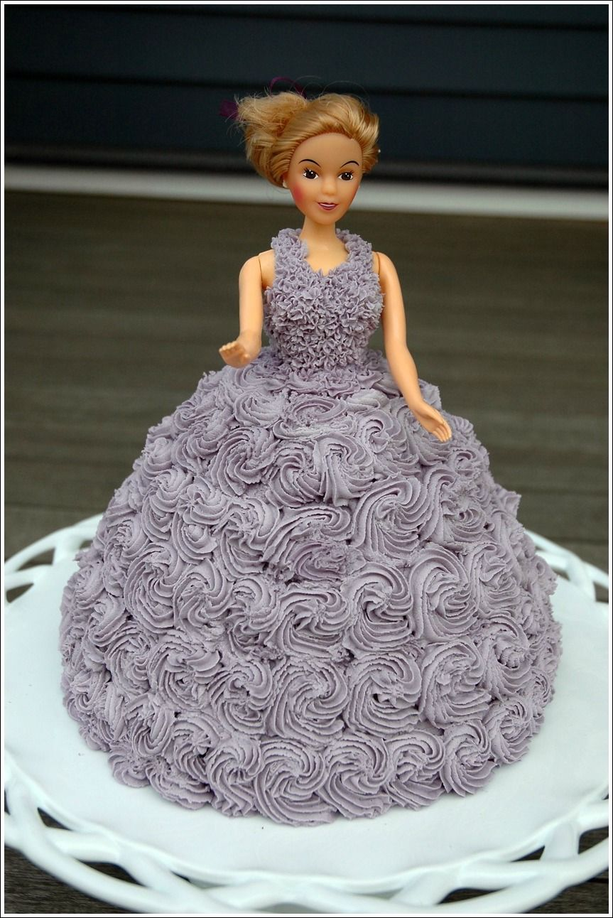 Doll Cake Doll Cake Doll Cake Tutorial Barbie Cake