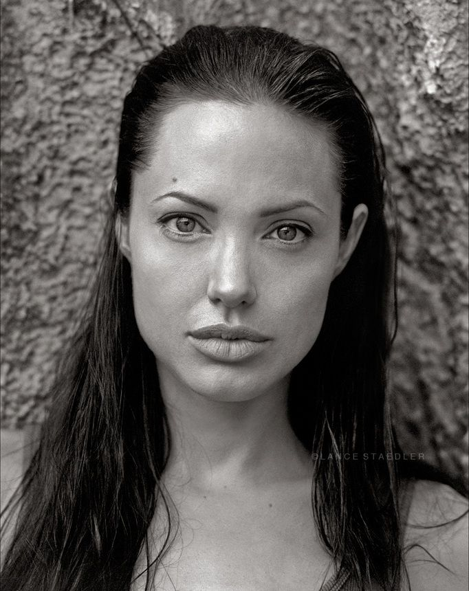 Angelina Jolie by Lance Staedler