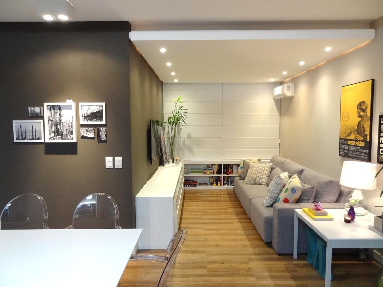 Resultado de imagem para sala de estar pequenas planejadas for Salas de estar pequenas