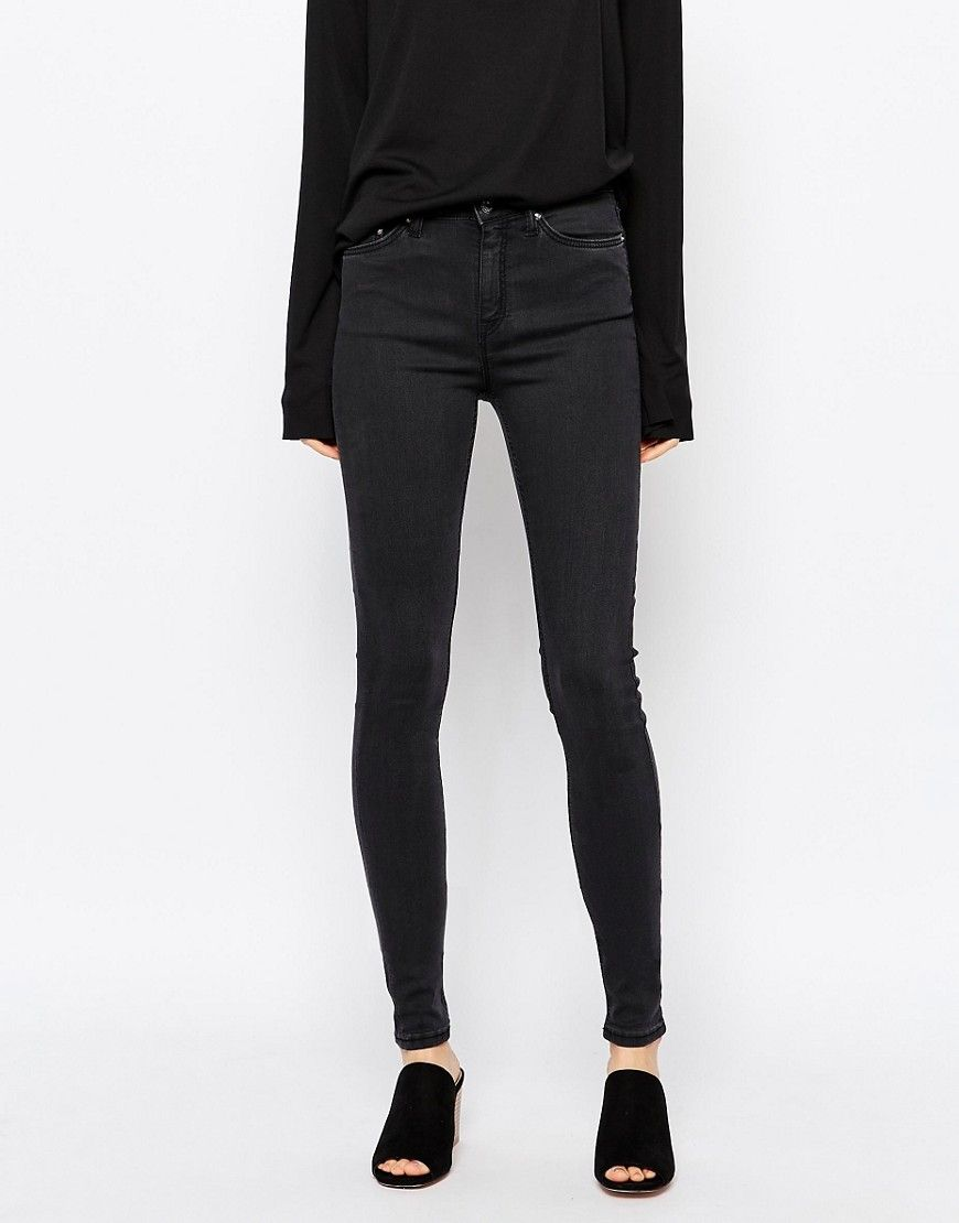Image 1 of Weekday Body High Waist Superskinny Jeans