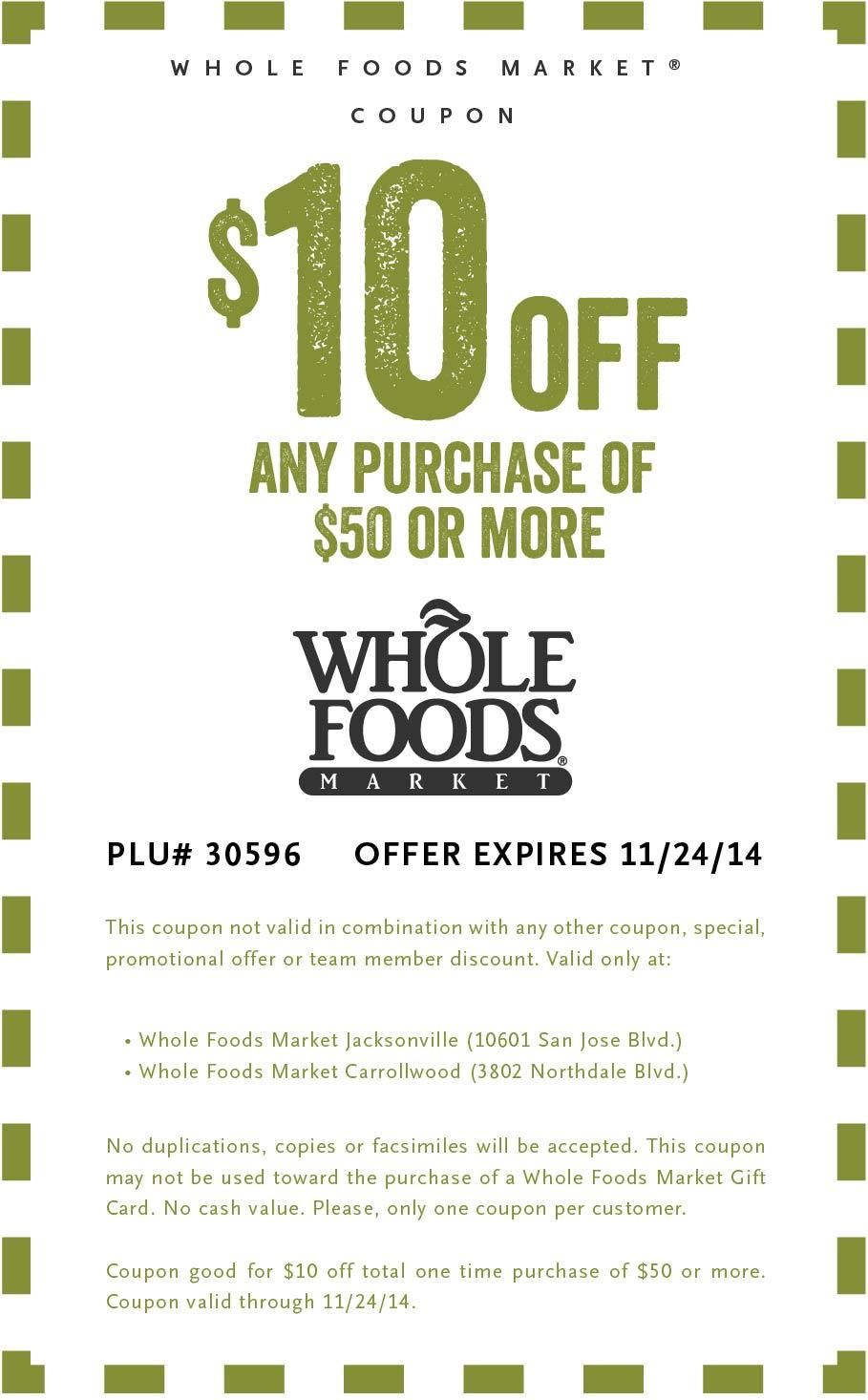 photo about Whole Foods Printable Coupons titled Carrollwood One of a kind Supply Slender Nutritious MAMA Complete foodstuff