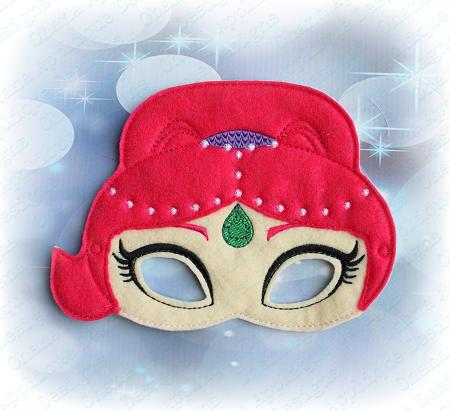 Sparkle Pink Genie Mask