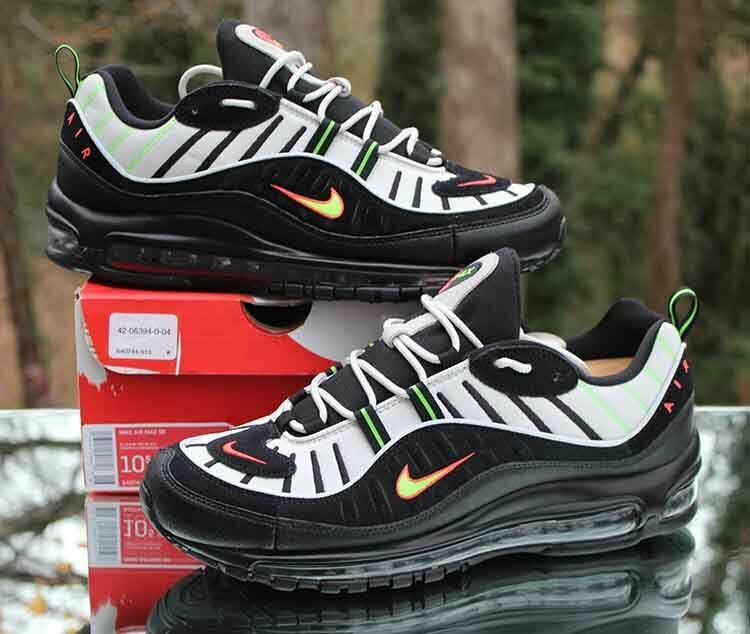 Nike Air Max 98 Platinum TintBlack