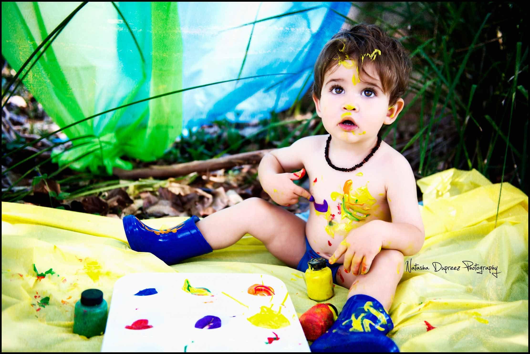 Cookies & milk, paint and bubbles photo fun session @ Natasha Dupreez Photography#childrenphotography #photography #brisbanephotographer #toddlerphotography