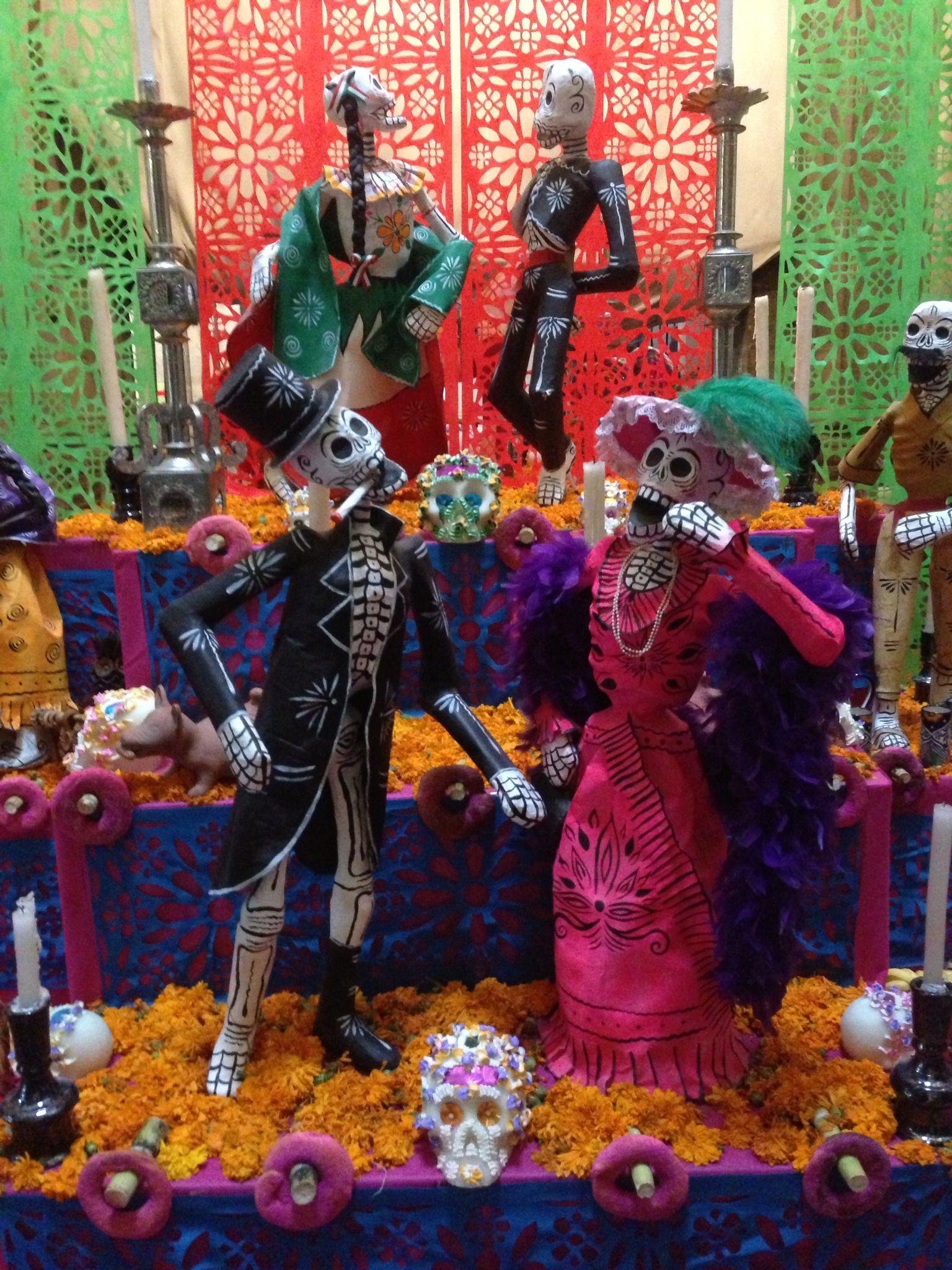 Mexico Dia del Muerte Halloween wreath, Decor, Day of