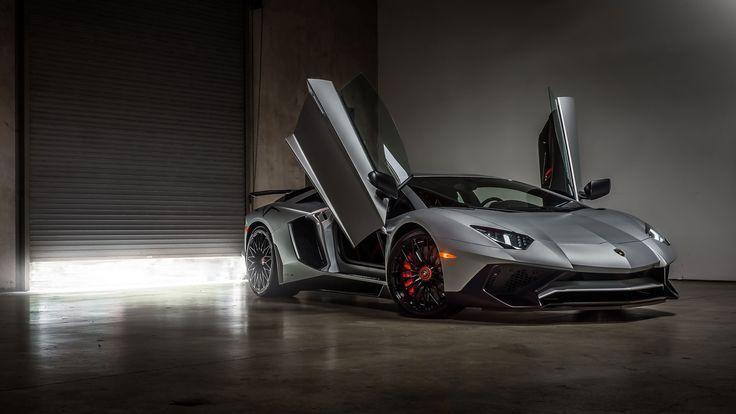 2018 Lamborghini Aventador LP 750 SV 4K Wallpaper | HD Car … – #4k #Aventador …