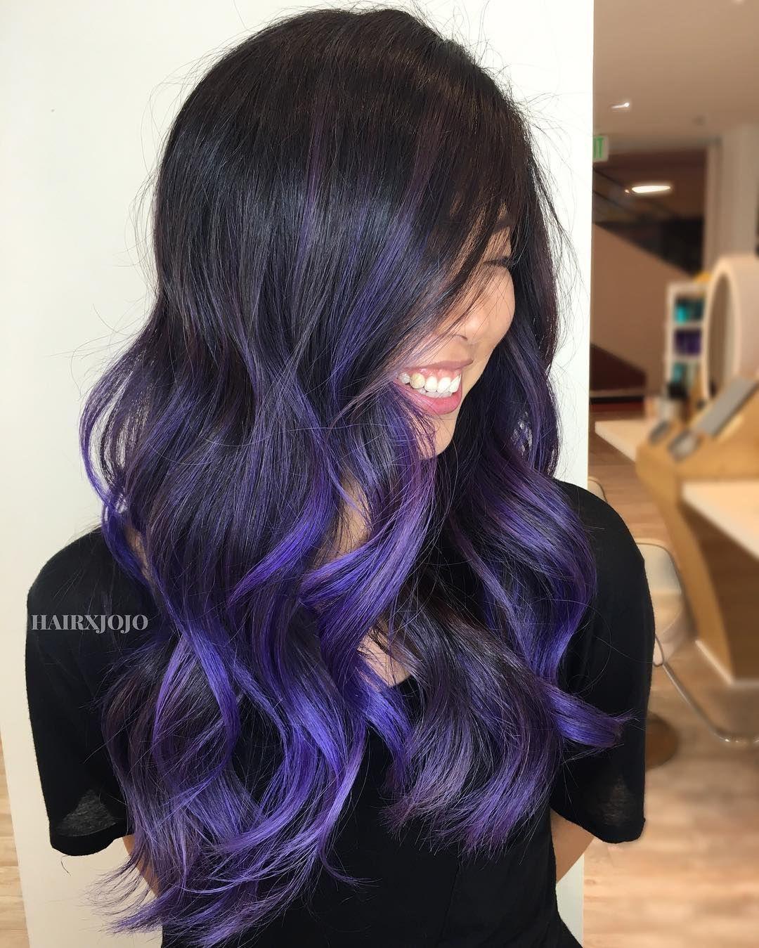 See This Instagram Photo By Hairxjojo 306 Likes Light Purple Hair Purple Hair Balayage Hair Honey