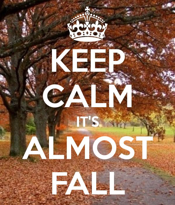 c42f1e251a7fb9 KEEP CALM IT'S ALMOST FALL | Fall | Fall, Happy fall y'all, Happy fall