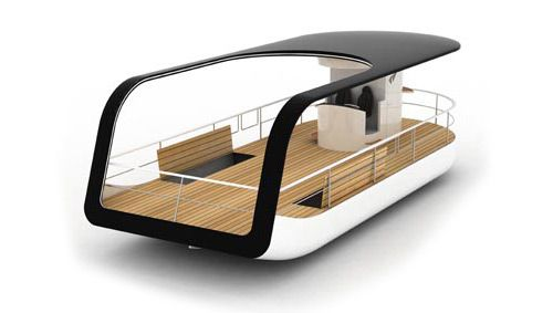The Argo – fancy touring boat