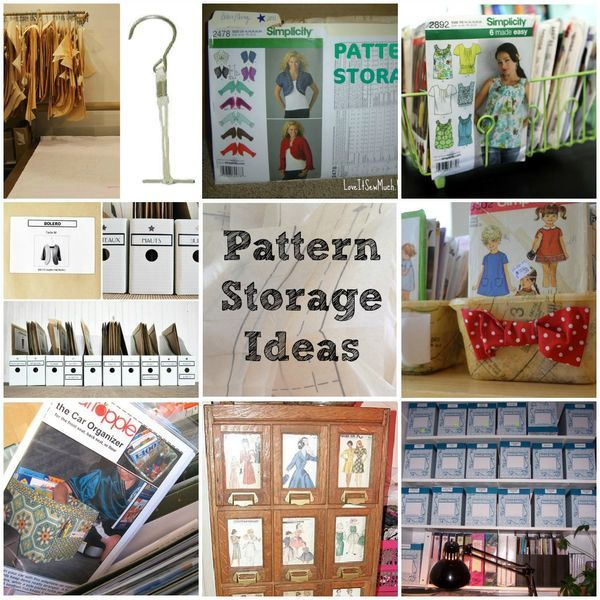 Is your pattern collection growing out of hand? Find great ideas for keeping your patterns in order.