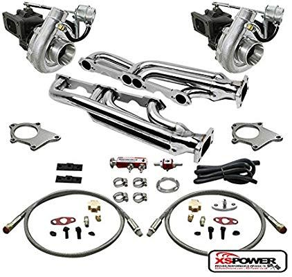 Amazon.com: T04 .63AR 500+HP 8PC TWIN TURBO CHARGER