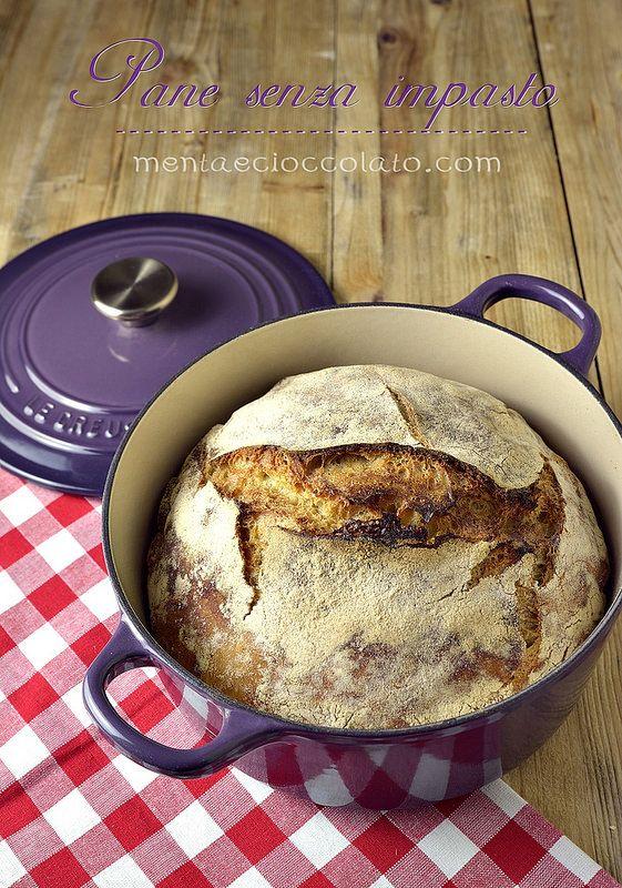 Menta e Cioccolato: Pane senza impasto con farro, per una rivincita dopo 10 anni!