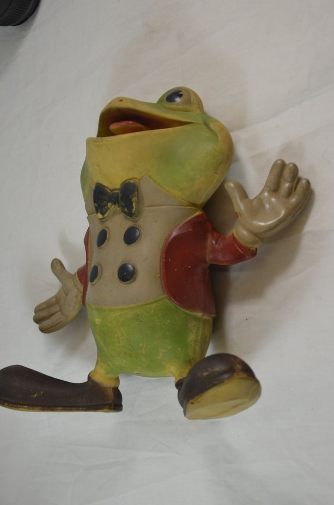 Froggy The Gremlin Rubber Squeak Toy 1948 Rempel Mfg McConnell ...