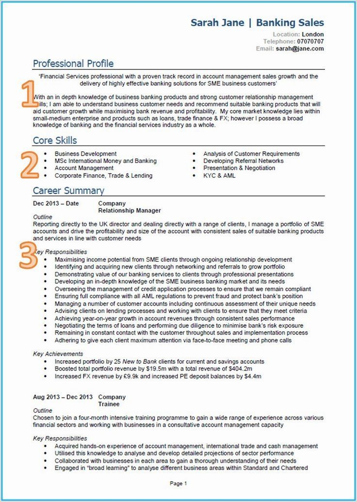 Resume Example with Headshot Photo + Cover Letter, 1 Page