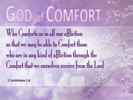 2 Corinthians 1 4 God Of All Comforts Pink Christian Wallpapers