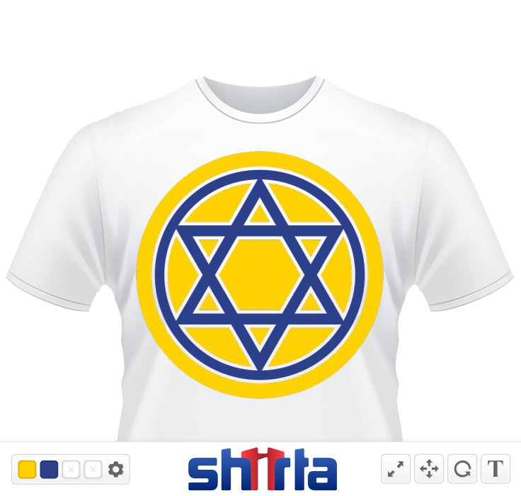 Shining Star of David