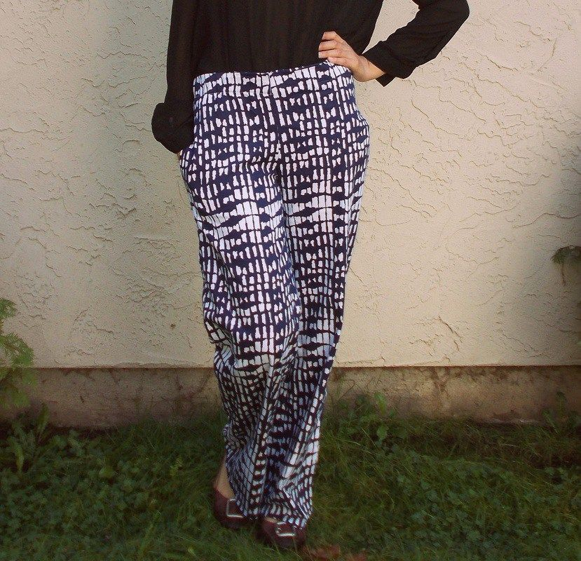 FREE SEWING PATTERN: Casual Pants