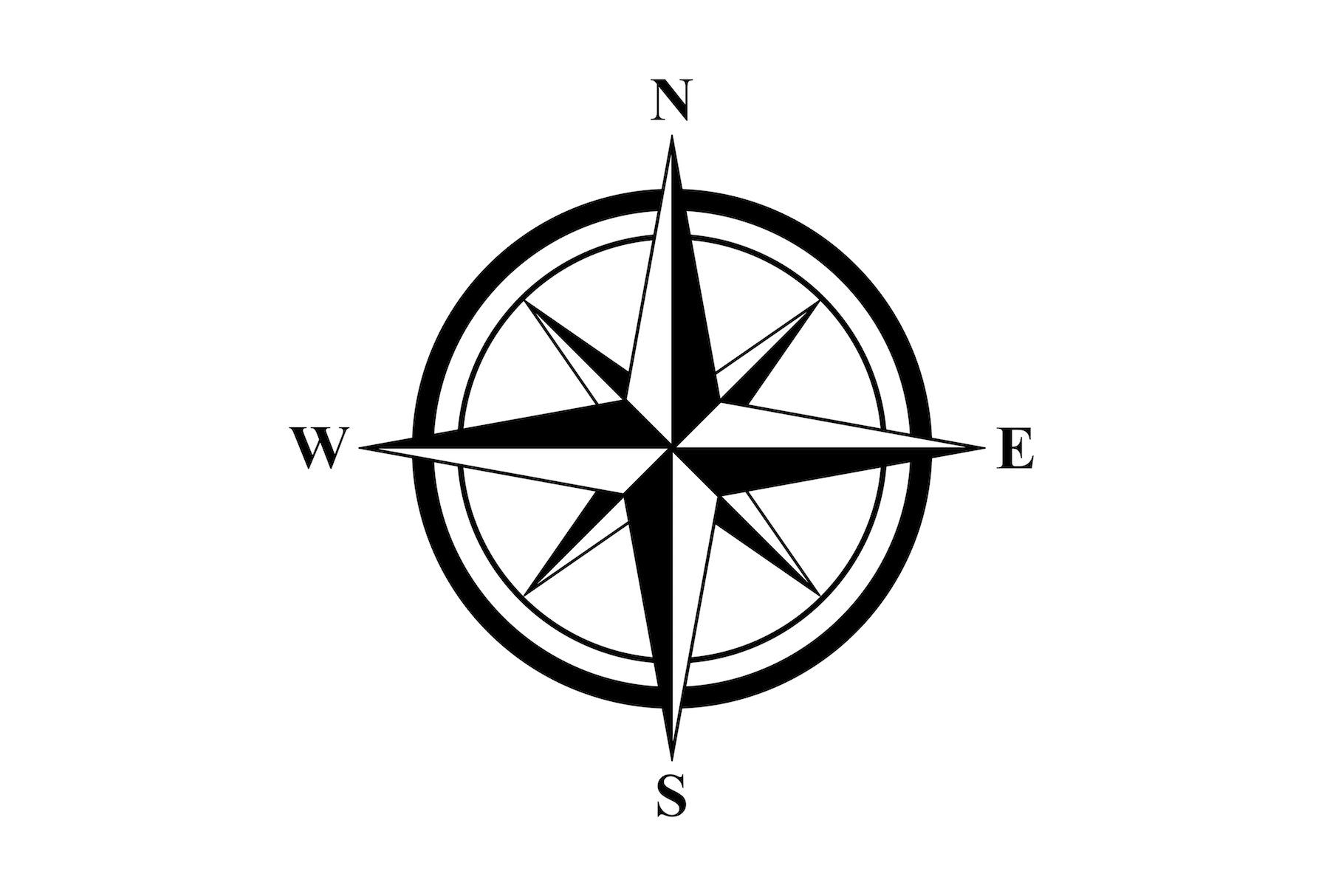 Basic Compass Rose With Images
