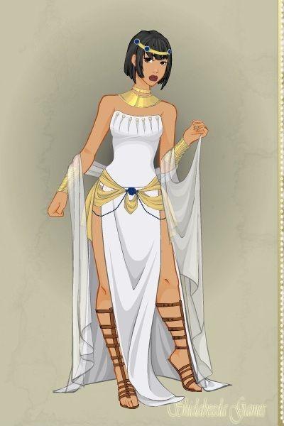 Cleopatra Doll Divine Dress Up Games Egyptian Goddess Costume Egypt Fashion Egyptian Fashion