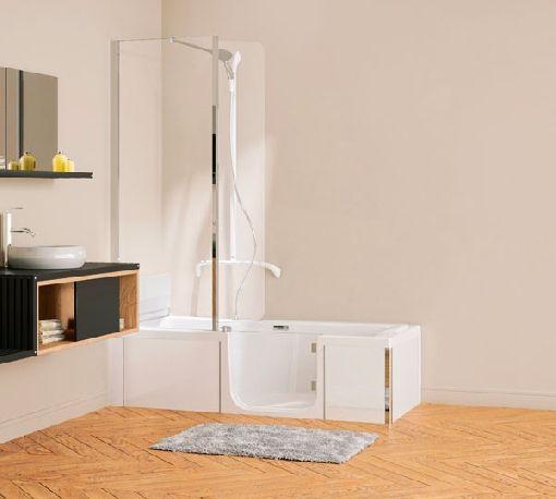 Homeplaza - Kombination aus Wanne und Dusche bringt Sicherheit und ...