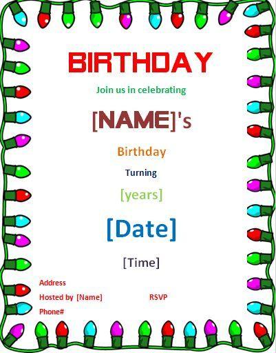 Pin By Alizbath Adam On Daily Microsoft Templates Birthday