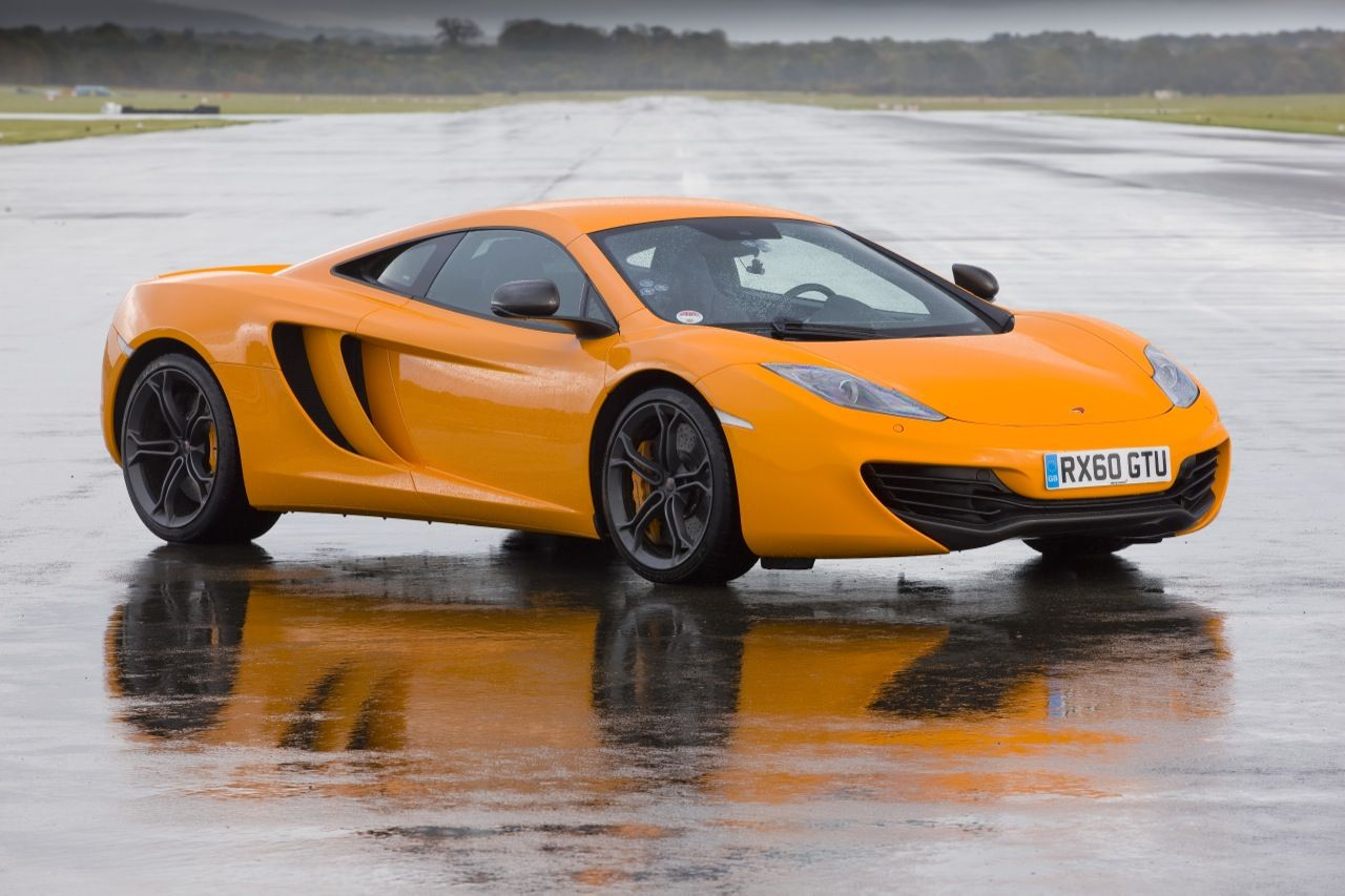 McLaren MP4-12C at the Top Gear Test Track Photos