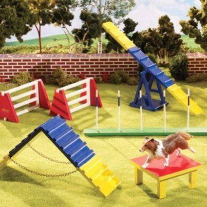 Breyer Dog Agility Play Set Dog Agility Playset Agile