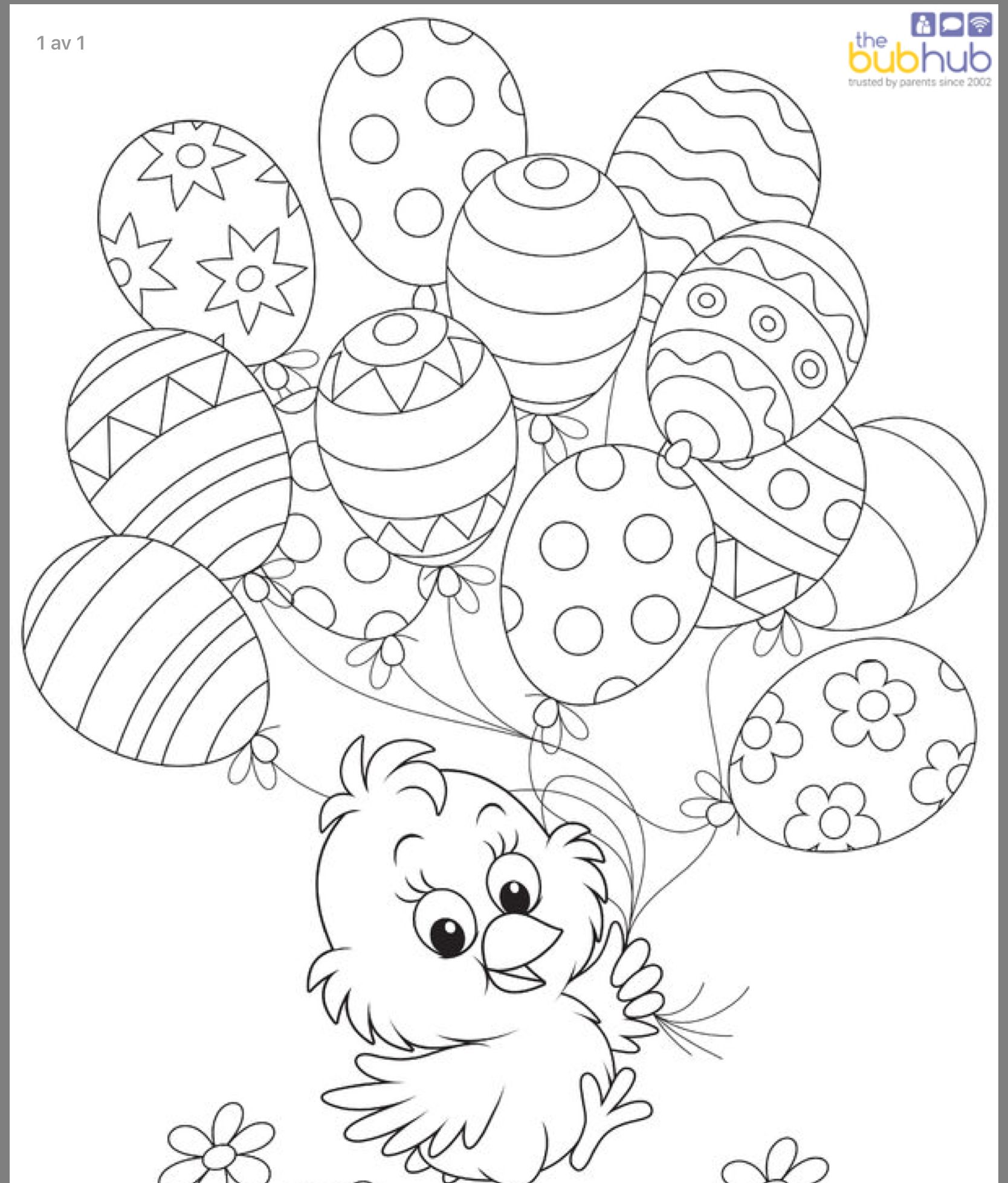 Pin By Karen Barley On Bild Free Easter Coloring Pages Easter Coloring Sheets Easter Colors